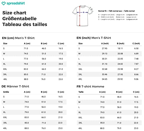 VIP – Very Important Paddler Männer T-Shirt von Spreadshirt®, XXL, Royalblau - 4