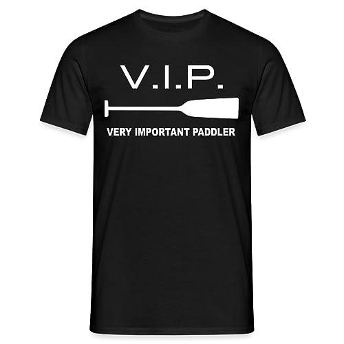 VIP - Very Important Paddler Männer T-Shirt von Spreadshirt®, L, Schwarz