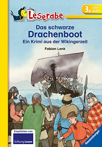 Das schwarze Drachenboot: Ein Krimi aus der Wikingerzeit (Leserabe – Schulausgabe in Broschur) - 3