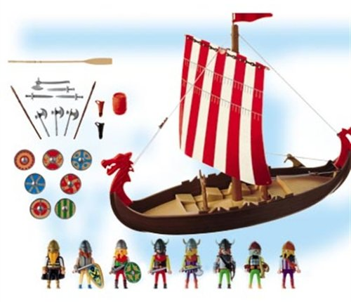 PLAYMOBIL® 3150 - Wikingerdrachenschiff -