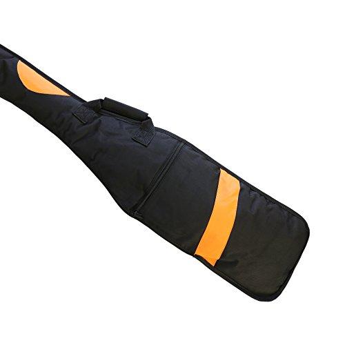 Paddeltasche, Paddel-Tasche für sämtliche IDBF genehmigte Paddel bis 130 cm Länge, dick gepolstert, extra Schlüsselfach, 2 Tragegriffe - 5