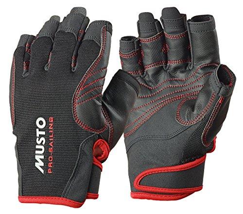 Musto Performance Short Finger Gloves BLACK AS0832 Sizes - Large